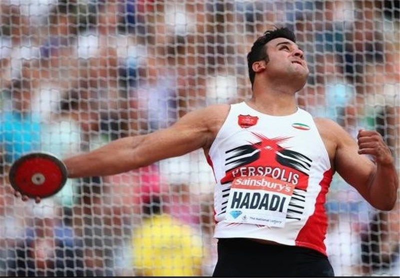 Iranian Discus Thrower Hadadi Wins Gold Medal in Asiad