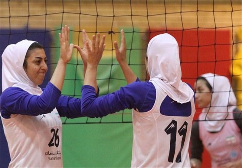 بابلسر روند پیروزی والیبال بانوان را تداوم می دهد