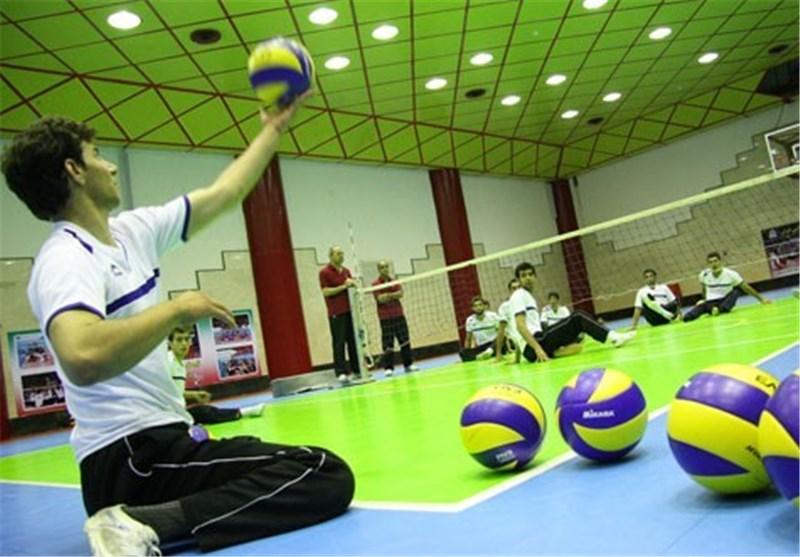 نمایندگان گلستان در اردوی آمادگی تیم ملی والیبال نشسته ایران