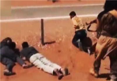 +18فیلم جنایت تکفیری ها در جاده عراق به سوریه