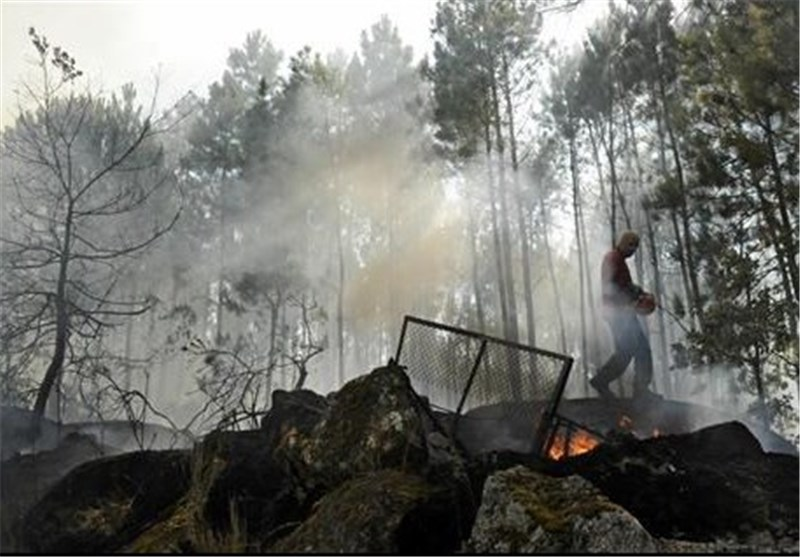 Wildfires Continue to Rage through Portugal
