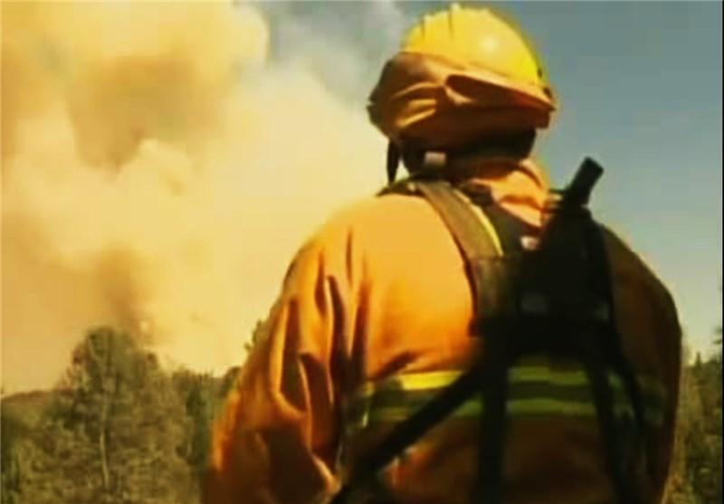 آتش در کالیفرنیا، آتشنشان ها را خسته کرد