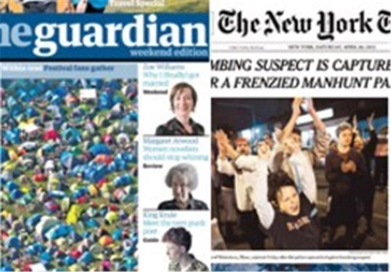 «الغاردیان» تعقد شراکة مع «نیویورک تایمز» لمتابعة نشر وثائق سنودن
