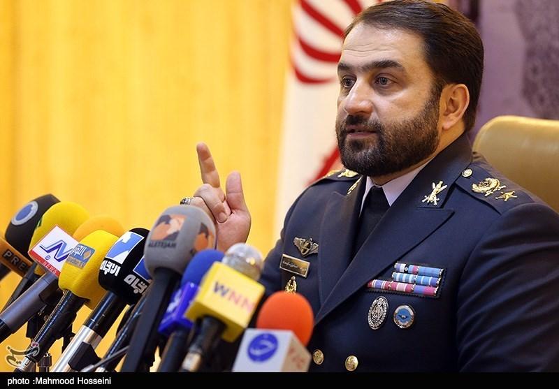 نشست خبری امیر فرزاد اسماعیلی فرمانده قرارگاه پدافند هوایی ارتش