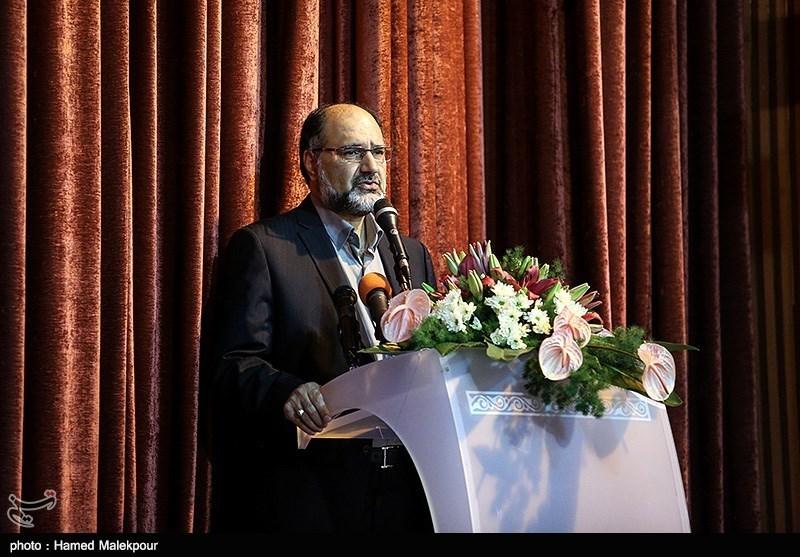 سخنرانی علی اصغر کاراندیش معاون جدید توسعه مدیریت و منابع انسانی وزارت ارشاد