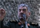 اللواء جعفری: حرس الثورة الاسلامیة أقوى قوة فی المنطقة
