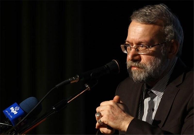 لاریجانی : العدوان على سوریا ینشر الازمة فی المنطقة