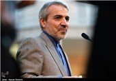 محمدباقر نوبخت سخنگوی دولت در جمع خبرنگاران