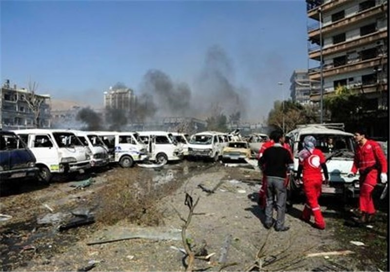 Bomb Hits Bus in Central Syrian Province, Kills 19