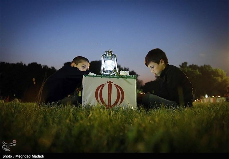 گزارش/وداع با پیکر ۹۲ شهید دفاع مقدس