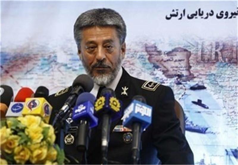 قائد سلاح البحر بالجیش: مدمرة لاوان سیتم ازاحة الستار عنها فی اسبوع الدفاع المقدس