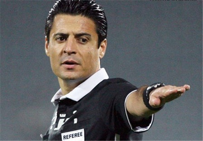 Iran's Faghani Nominated for AFC Referee of Year