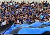 حضور 80 هزار نفر در آزادی و کتک خوردن هوادار استقلال/بازیگر سینما قرمزپوش شد!
