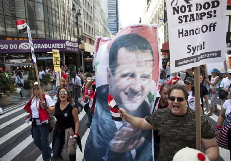 Worldwide Protests Held against Military Strike on Syria (+Photos)