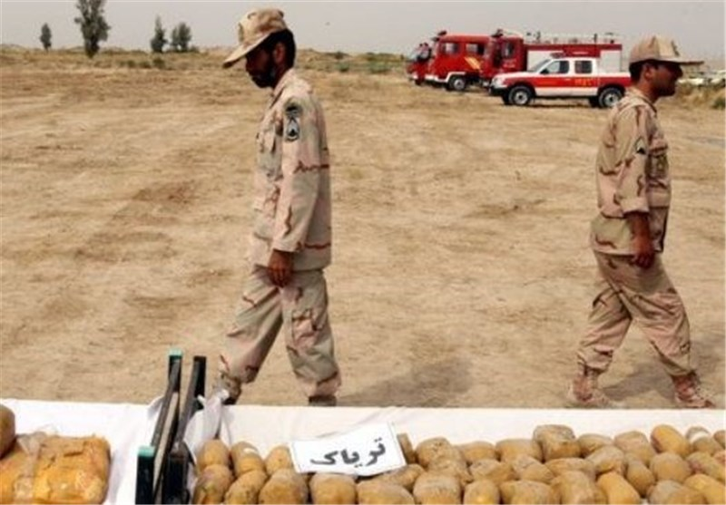 Iran Border Police Seize Huge Drug Cargo