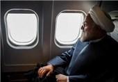 روحانی آبادان را به مقصد تهران ترک کرد