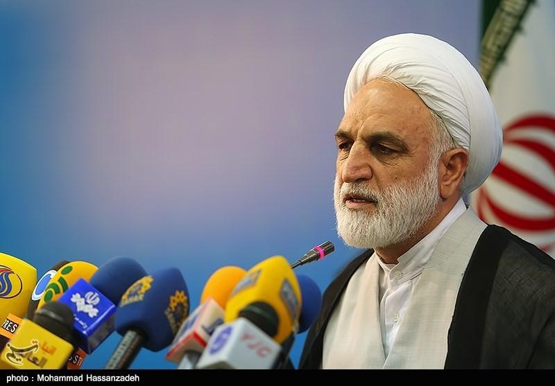 نشست خبری حجت الاسلام محسنی اژه ای سخنگوی قوه قضائیه