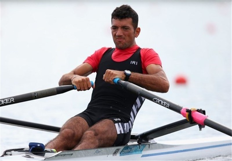Rower Shadi Claims Iran's Third Gold Medal in Asiad
