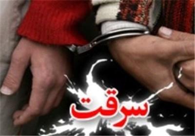 باند سارق ۴ نفره بروجرد دستگیر شد