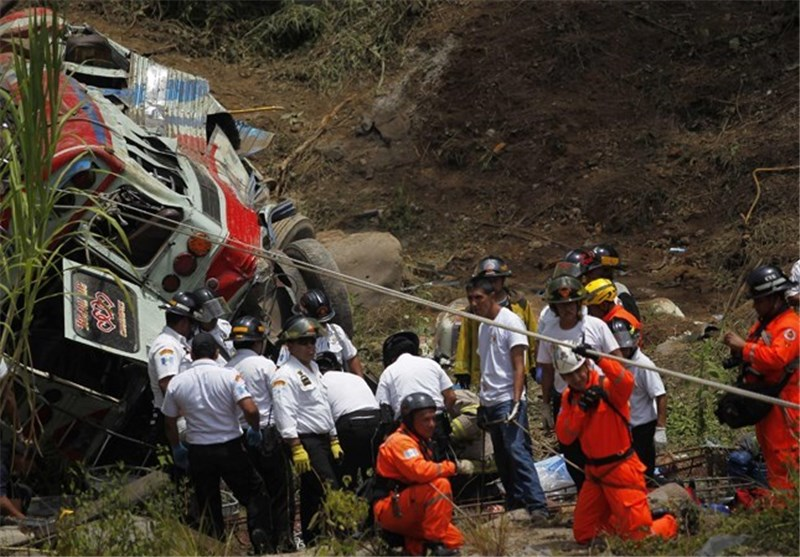 At least 43 Dead in Guatemala Bus Crash