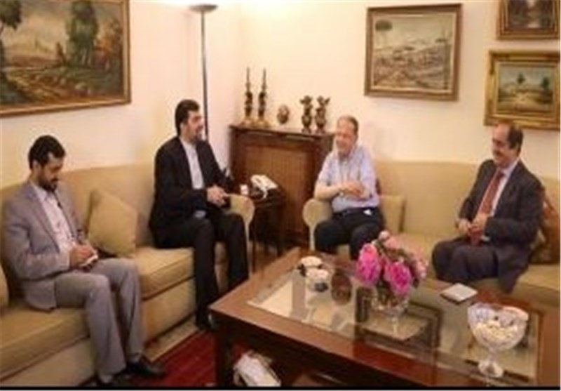 Iranian, Egyptian Ambassadors to Lebanon Meet in Beirut