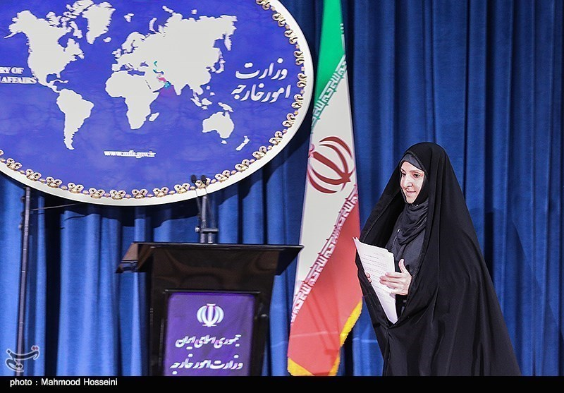 Photos: Foreign Ministry Spokeswoman's First Press Conference Held in Tehran