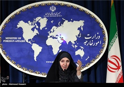 Foreign Ministry Spokeswoman's First Press Conference Held in Tehran