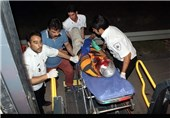 تهران| 17 مصدوم بر اثر تصادف چند خودرو در بلوار شهید تندگویان + تصاویر