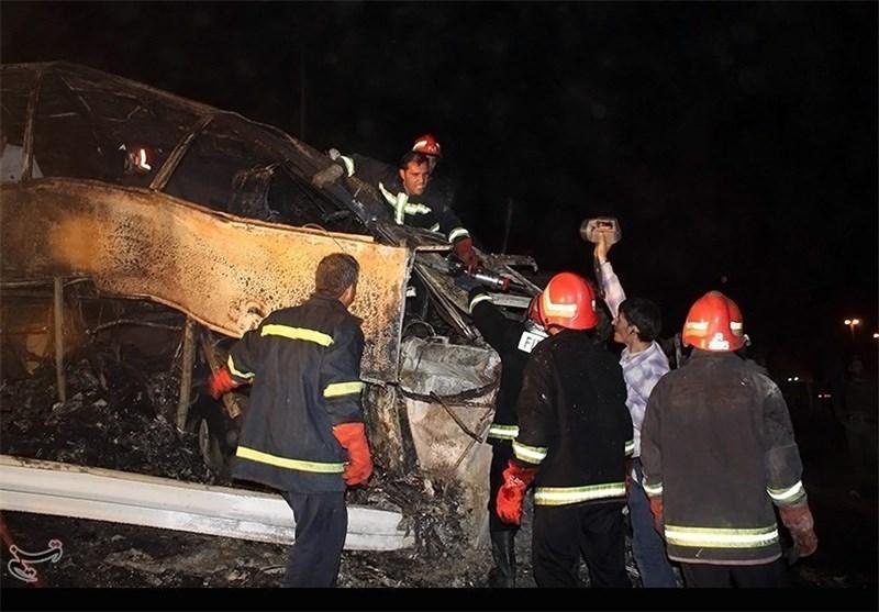 14 کشته در پی سانحه رانندگی در برزیل