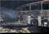 6 کیلو طلا از صحنه تصادف اتوبوسهای اتوبان قم - تهران کشف شد