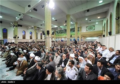 Iranian Hajj Officials Meet Supreme Leader