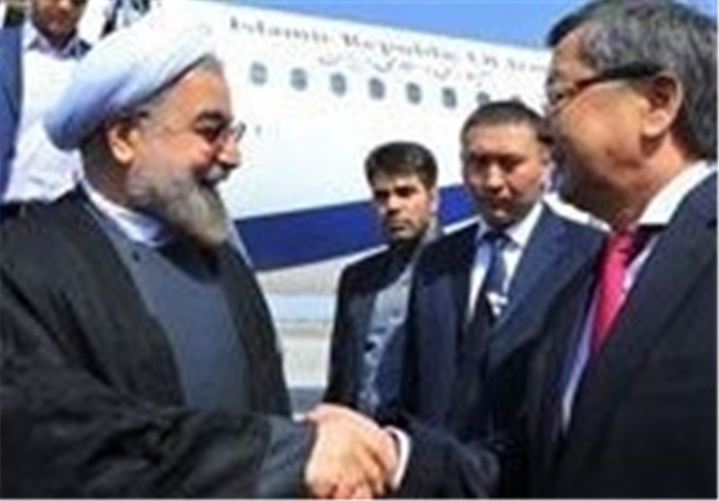 President Rouhani Stresses Significance of SCO Summit