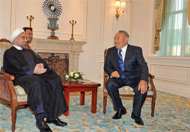 Iranian, Kazakh Presidents Discuss Expansion of Bilateral Relations