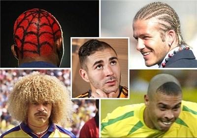 مدلهای موی عجیب فوتبال