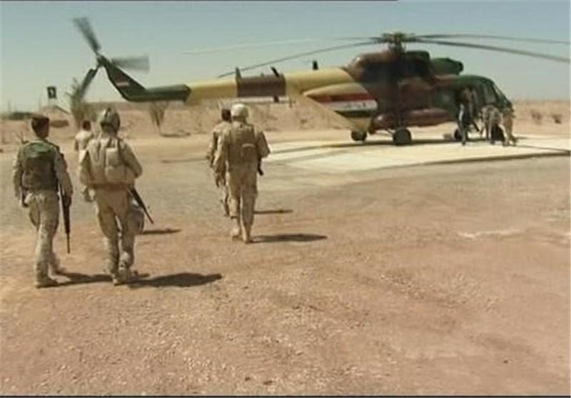 اعزام نیروهای ویژه عراق به سامرا و صلاح الدین