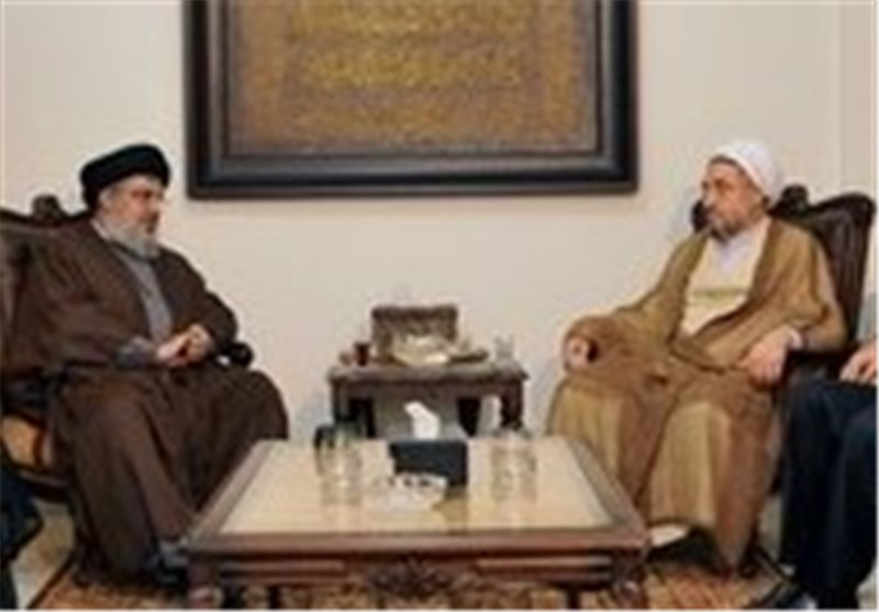 Nasrallah, Senior Iranian Cleric Confer on Proximity among Muslims