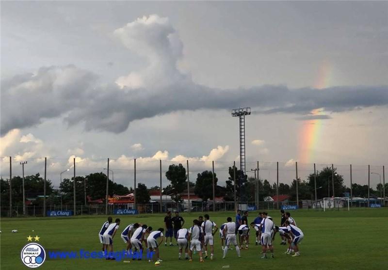 بازیکن برزیلی استقلال در تمرین حضور یافت