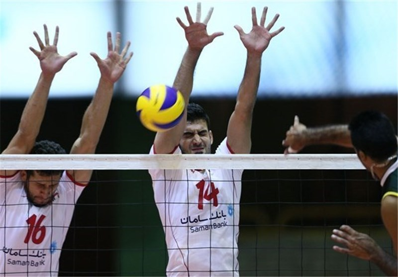 Iran Beats Kazakhstan 3-0 in Dubai Asian Volleyball Championships
