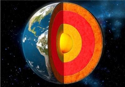 هسته زمین چند سال قبل سخت شد؟