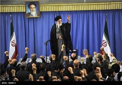 Senior IRGC Commanders, Veterans Meet with Supreme Leader