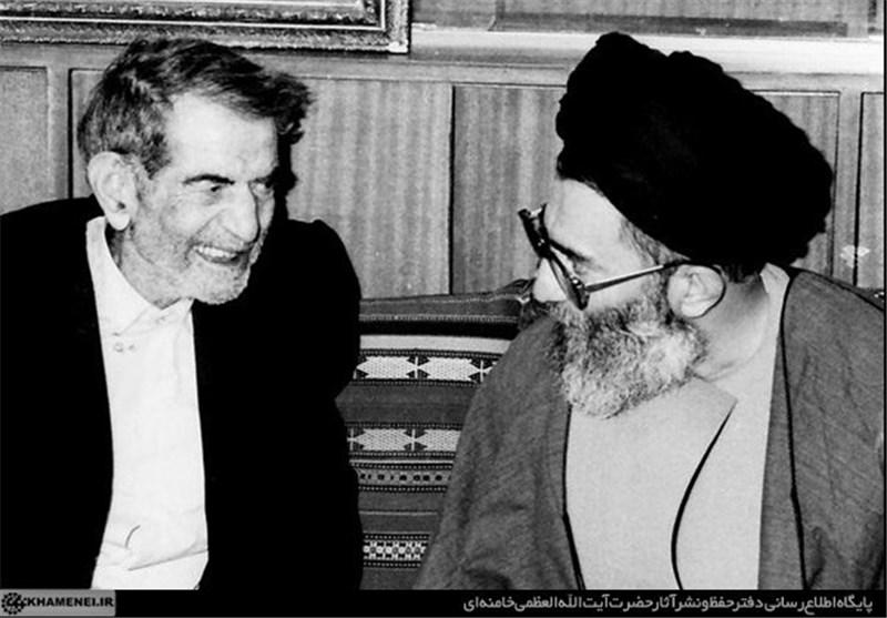 شهریار و رهبر انقلاب