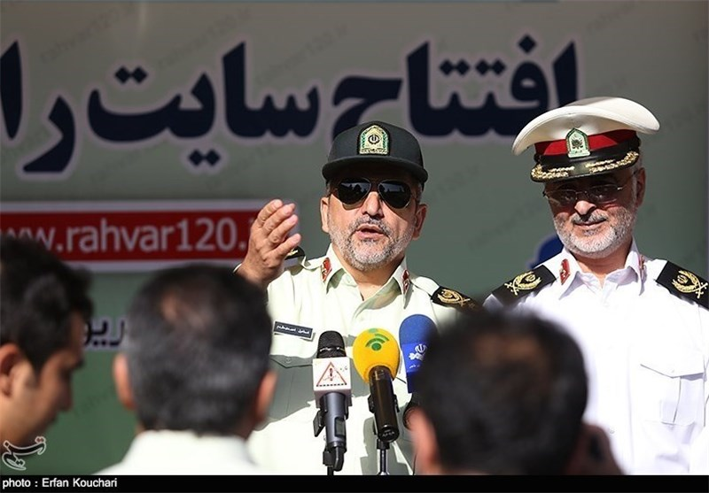 Police Chief: Iran Working with Persian Gulf States against Drug Rings