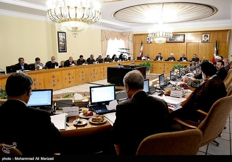 Iranian Cabinet's Weekly Session