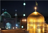 جشن هفته وحدت در حرم رضوی برگزار میشود