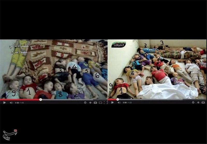 «کودکان تکراری»؛ ابهامی دیگر در فیلمهای حمله شیمیایی در سوریه/رسانهها جنگ آفرینند؟