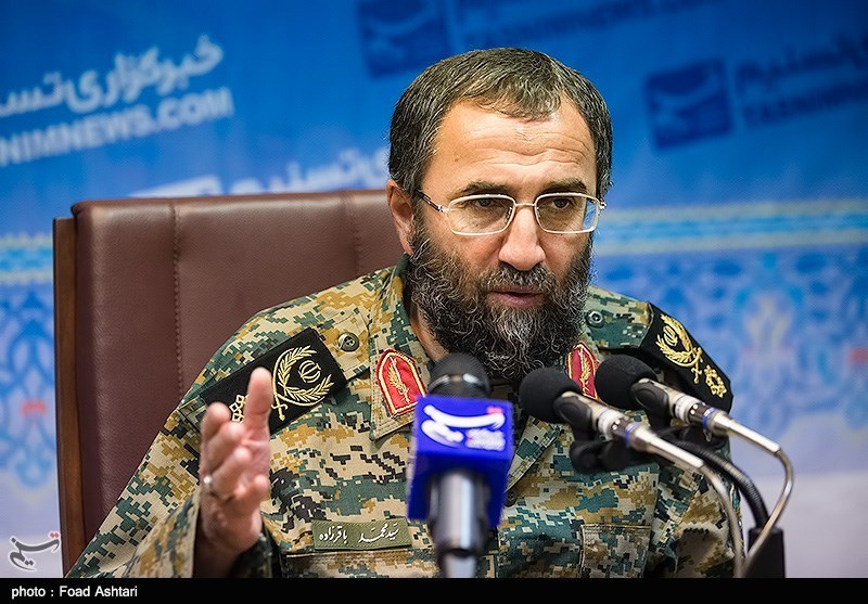 بازدید سردار باقرزاده از خبرگزاری تسنیم