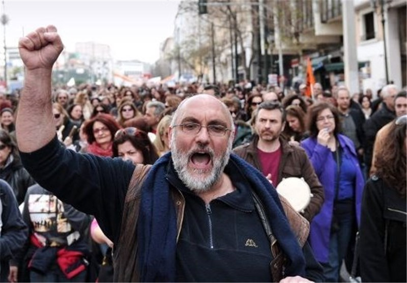 Thousands Protest Austerity in Greece