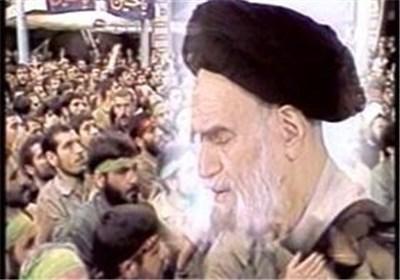 امام خمینی و خانواده شهدا