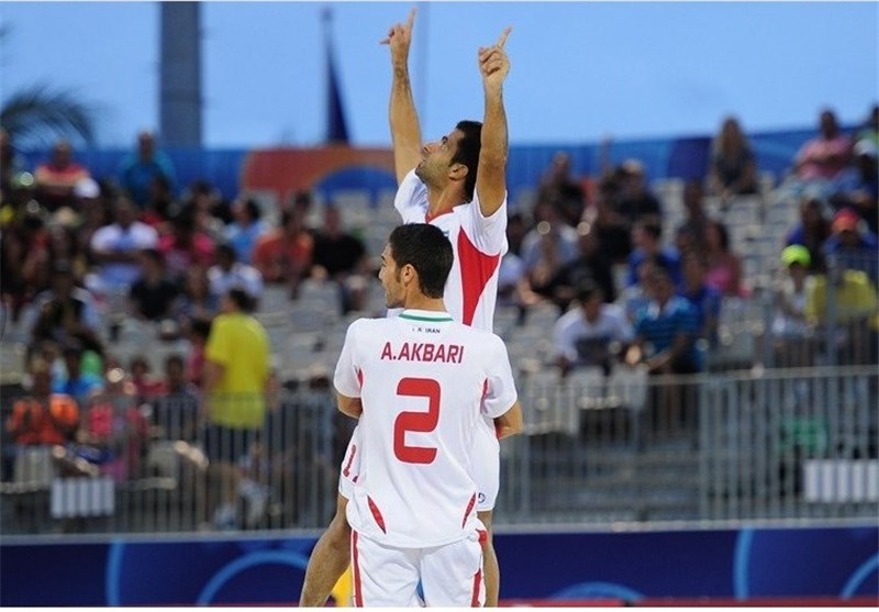 Iran Wins Beach Soccer Cup after Victory over Russia