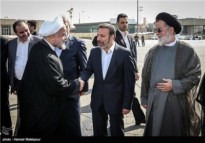 President Rouhani Leaves Tehran for New York